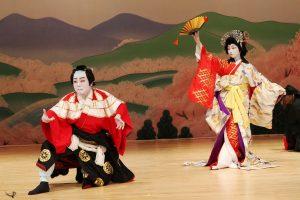 """Nishizaki Sakurako and Bando Kotji in """"Yoshino Mountain"""""""