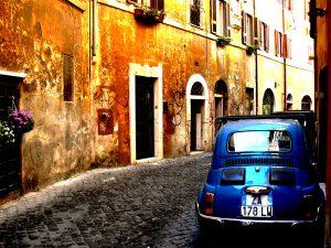 ruelle Trastevere fiat